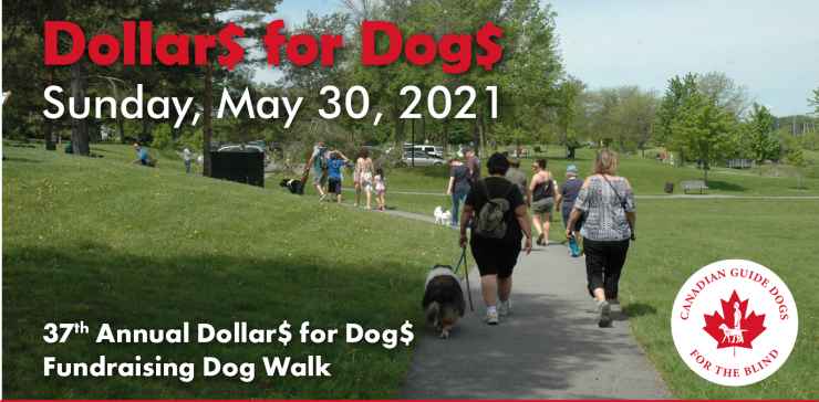 Dollars for Dogs Walk