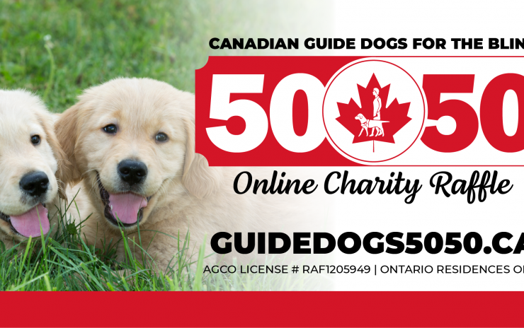 Our first online 50/50 Raffle for Ontario!