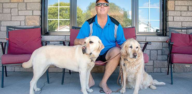Canadians Continue to Receive Guide Dogs During the Pandemic